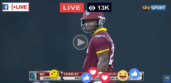 WEST INDIES VS NEW ZEALAND LIVE 3RD T20 MATCH ( WI VS NZ )