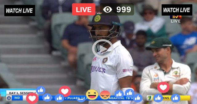 India vs Eng Live Test