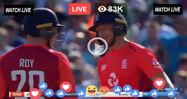 How to watch India vs England Live Streaming