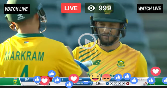 West Indies vs South Africa Live Cricket Score
