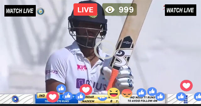 India vs England 2nd test Live Day 5